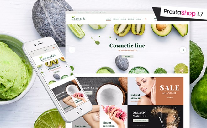 Cosmetti - Cosmetics PrestaShop Theme