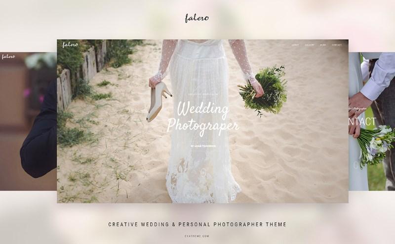 edding Photographer Theme WordPress Theme