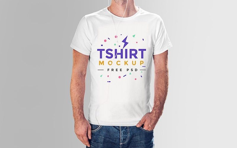 20 T-Shirt Mockup PSD to Showcase your Apparel Design