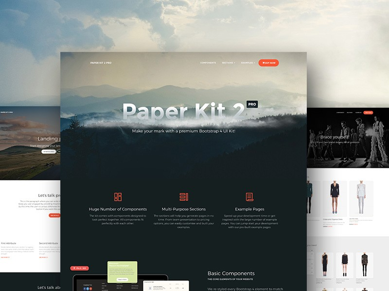 15 Bootstrap 4 UI Kits - HTML, PSD & Sketch for Free Download and ...