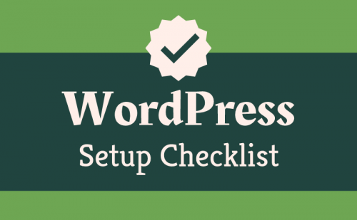 wordpress setup checklist featured 1