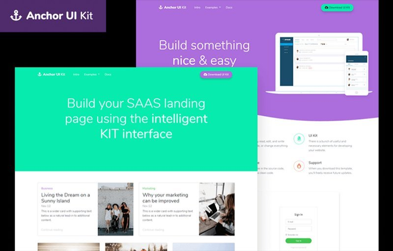 Anchor Free Bootstrap