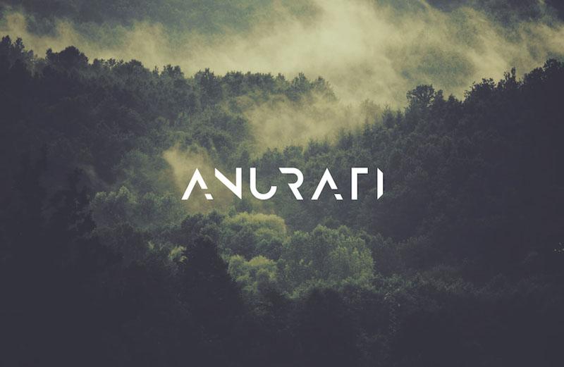 Anurati - Futuristic Sci Fi Fonts Collection