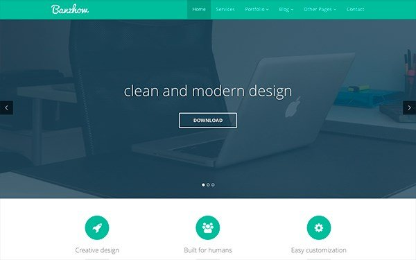 17 best bootstrap business templates for companies startups and banzhow responsive business theme cheaphphosting Image collections
