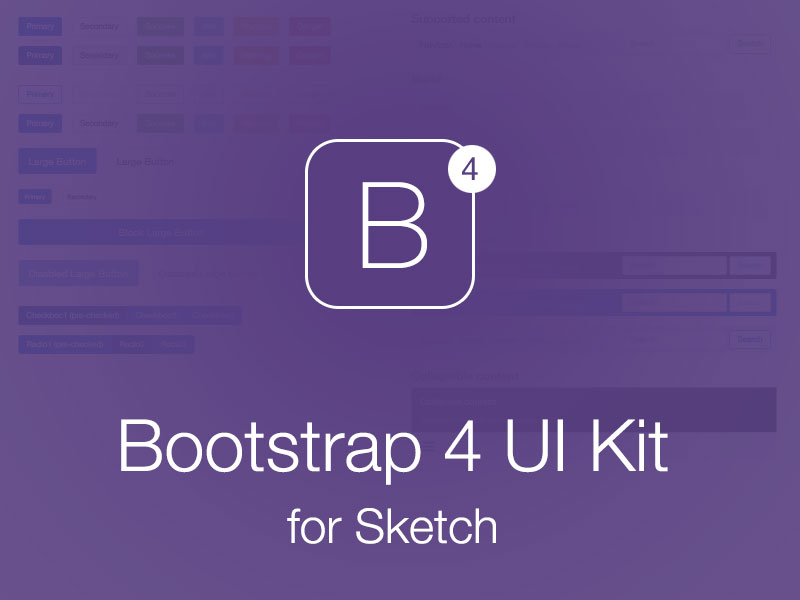 15 Bootstrap 4 UI Kits - HTML, PSD & Sketch for Free Download and
