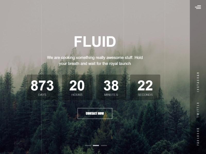 fluid coming soon