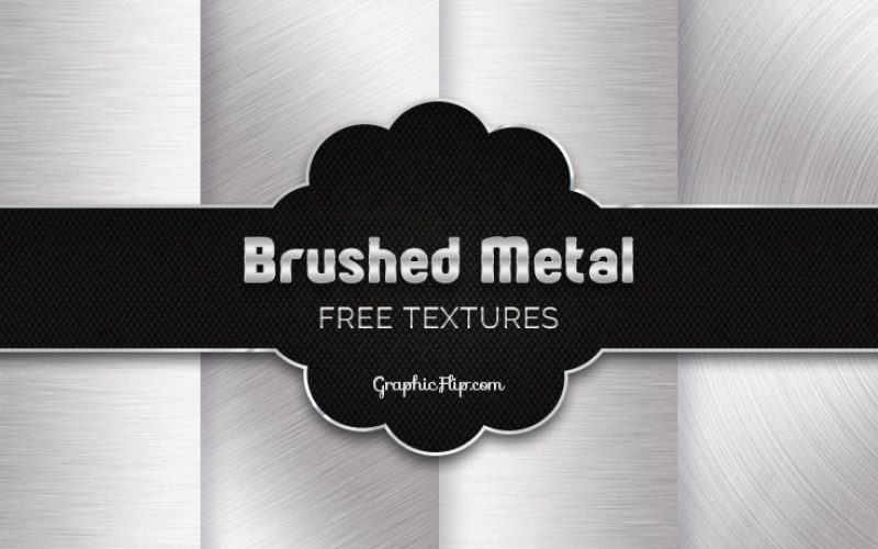 Free Brushed Metal Texture Backgrounds