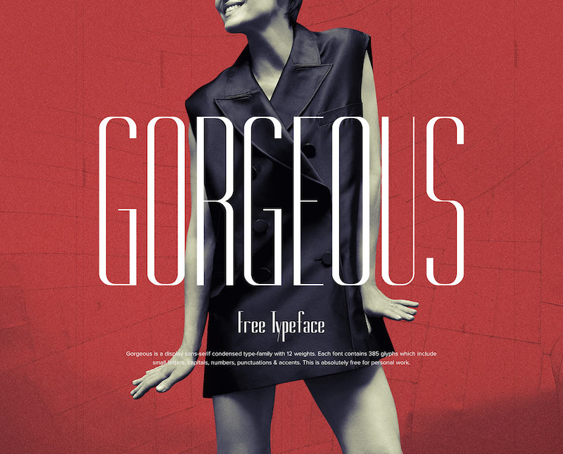 Gorgeous Fashion Typeface