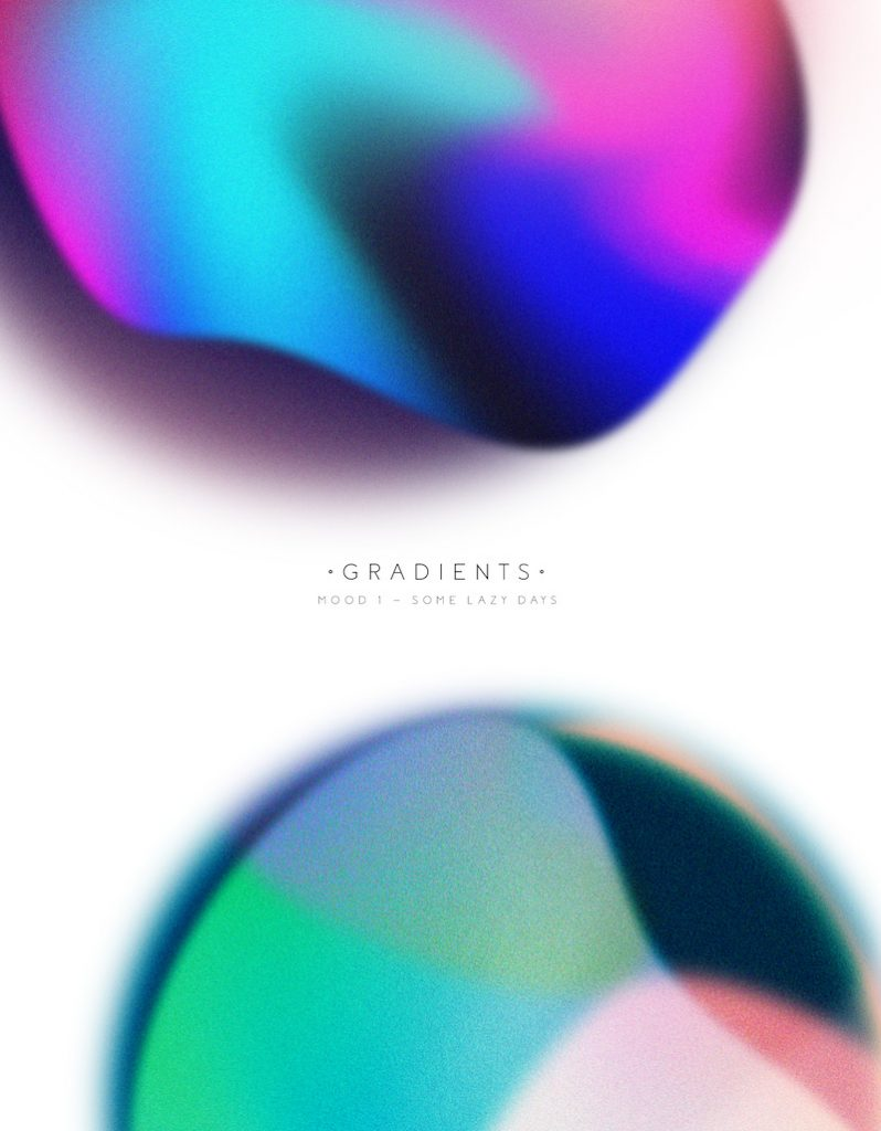 Different Moods Expressed through Gradients