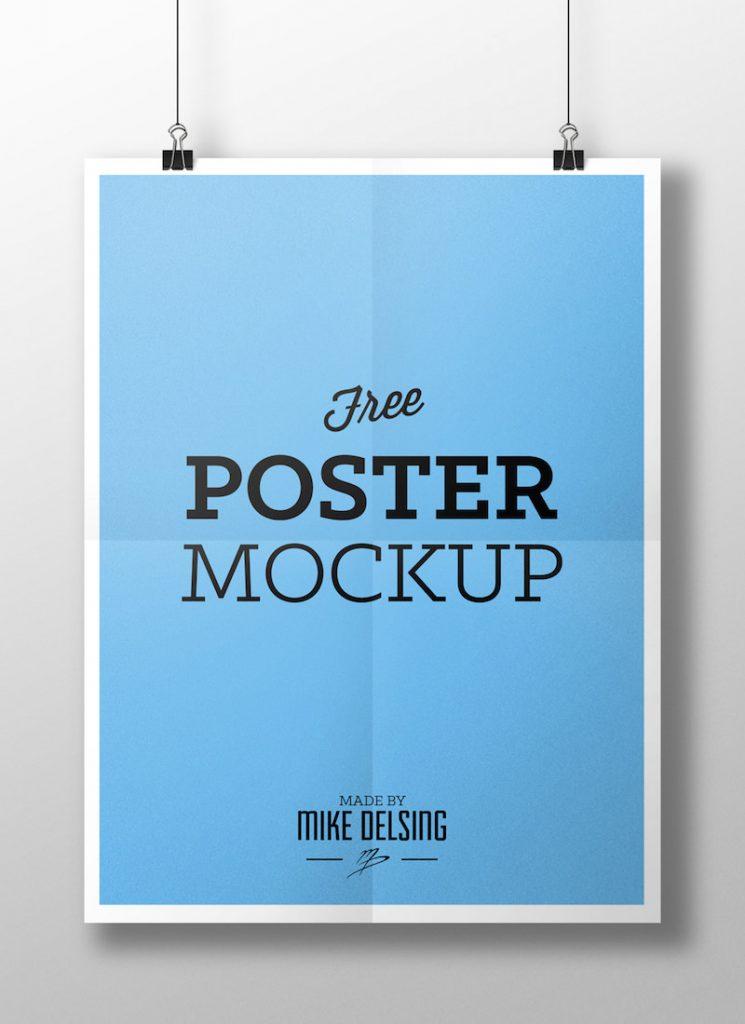 Hanging Poster Mockup