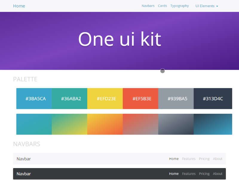 one ui kit