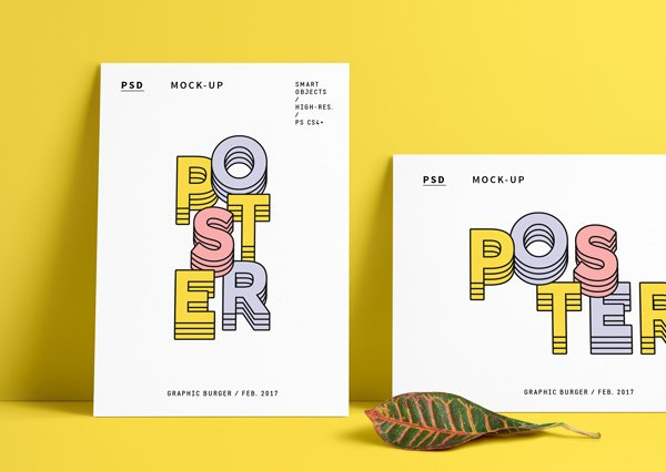 30 poster mockup psd templates to showcase your designs super dev