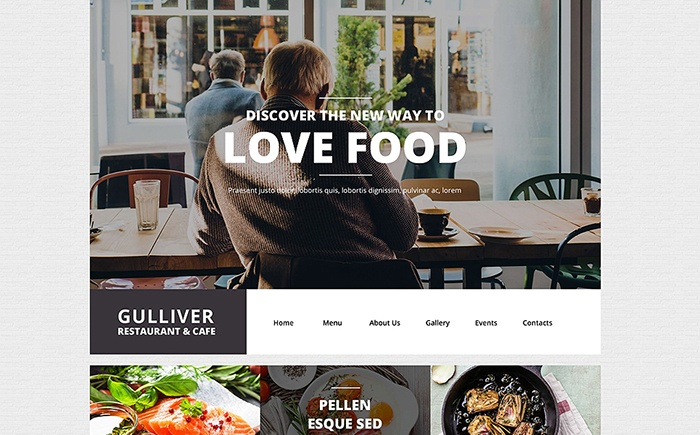 Restaurant WP Theme