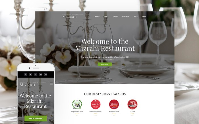 estaurant WordPress Theme