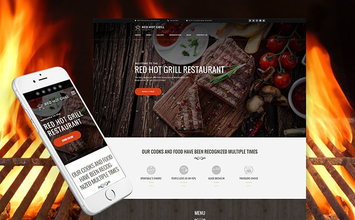 staurant WordPress Theme