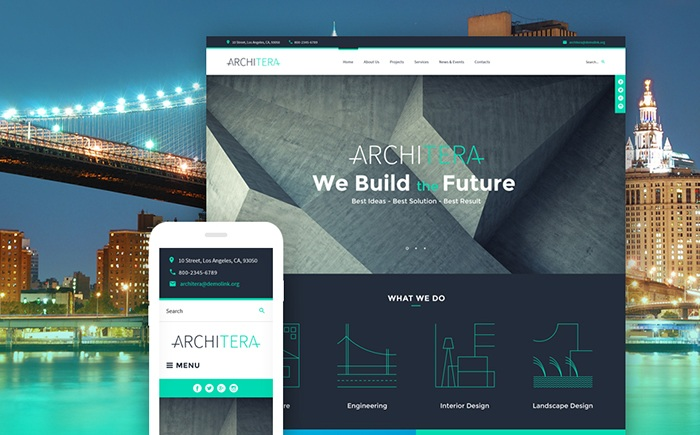 Architera - Architecture Firm Responsive WordPress Theme