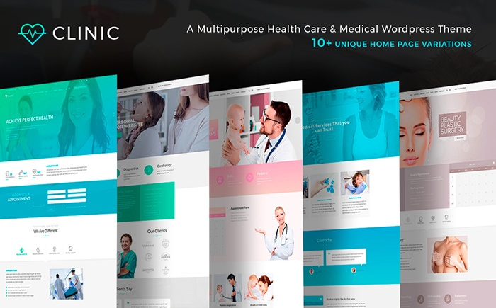 Clinic - Health and Medical Center WordPress Theme