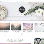 Anissa - Free WordPress theme for Female Bloggers