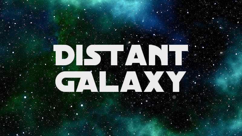Distant Galaxy Hi-Tech Font