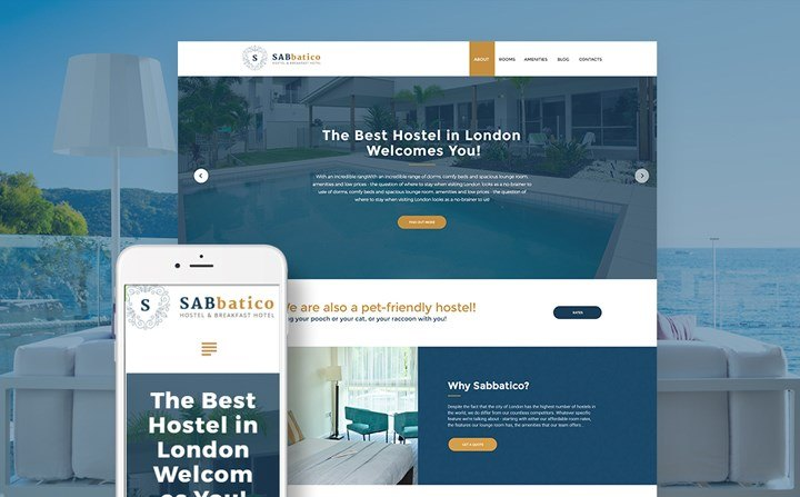 Hostel WP Theme