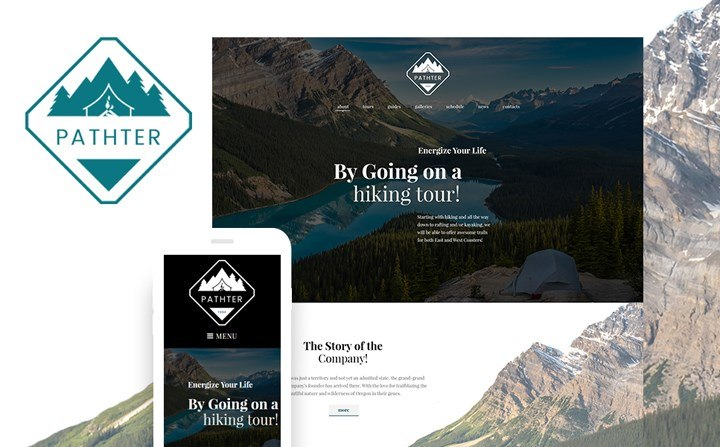 Hiking Trips & Camping WordPress Theme
