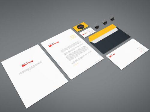 Branding Mockup PSD Template