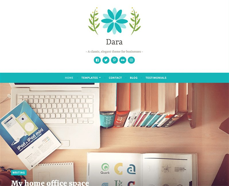 Dara Elegant Business Theme