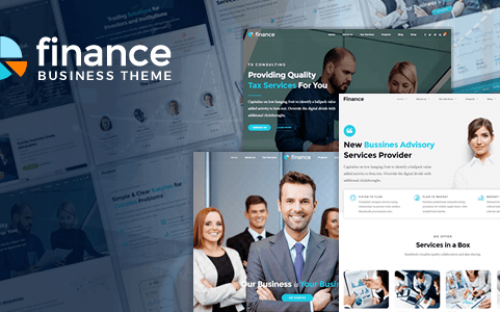 Top 20 Business Consultant and Financial Advisor WordPress Themes