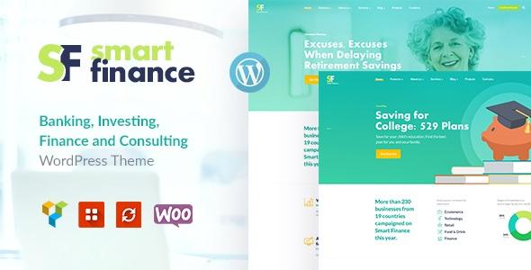 Smart Finance | Accounting & Tax Help WP Theme