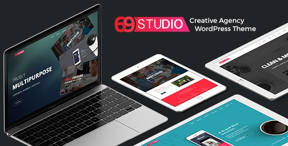 SixtyNineStudio - Creative Agency WordPress Theme