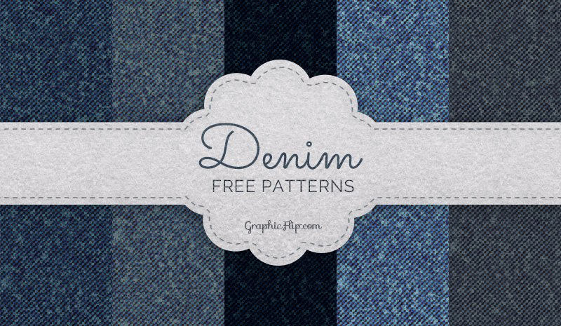 Free Seamless Denim Patterns