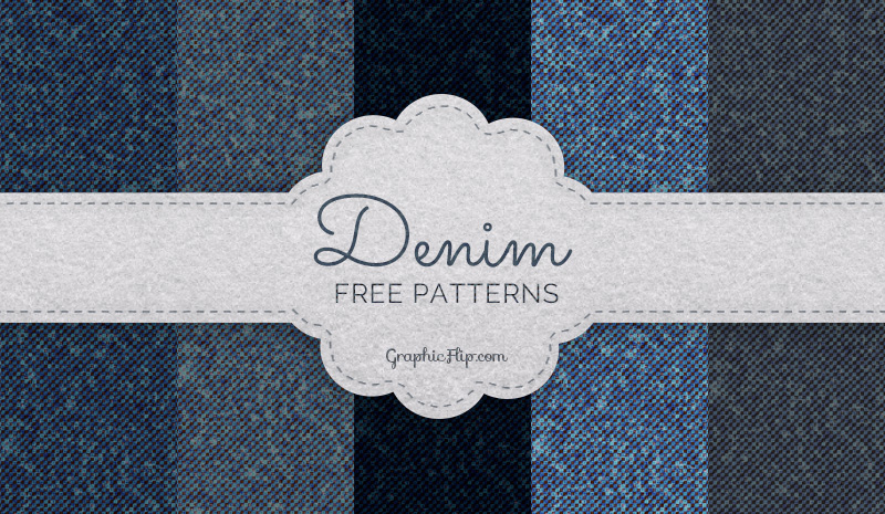 Free Seamless Denim Patterns