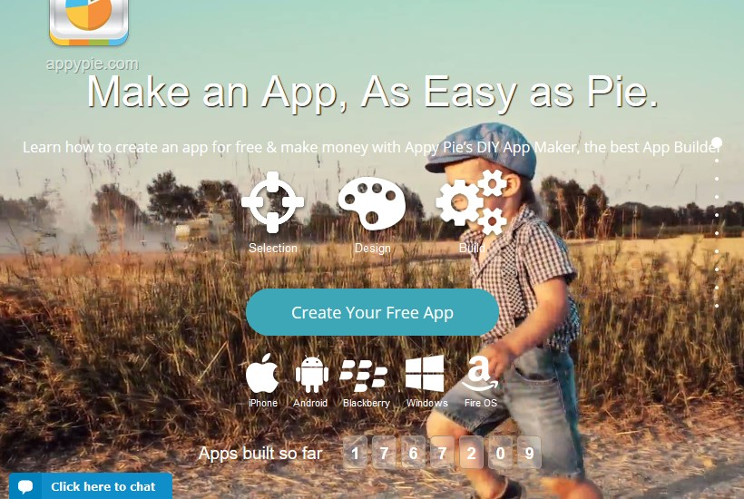 appy pie - make app without coding