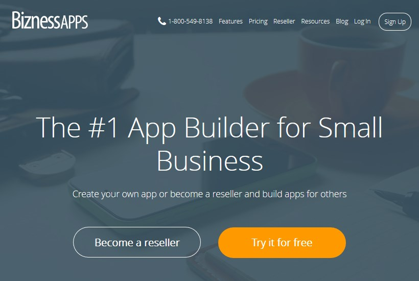 bizness apps - app builder