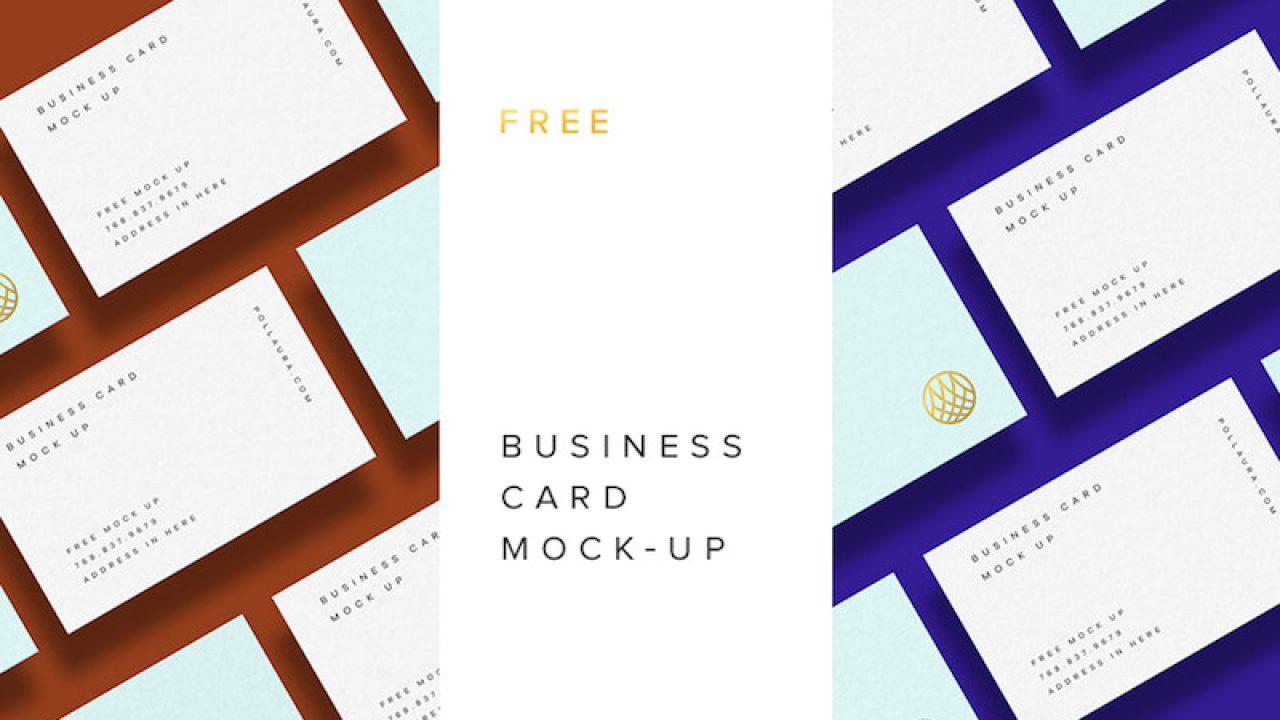 20 Free Business Card Psd Mockups Super Dev Resources