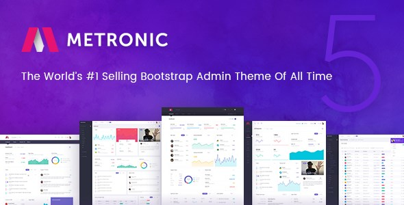 30+ Bootstrap Admin Dashboard Templates - Free Download