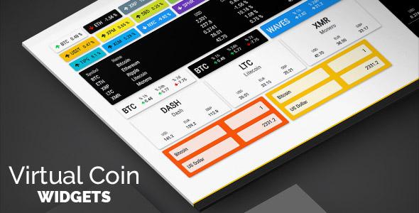 virtual coin widgets