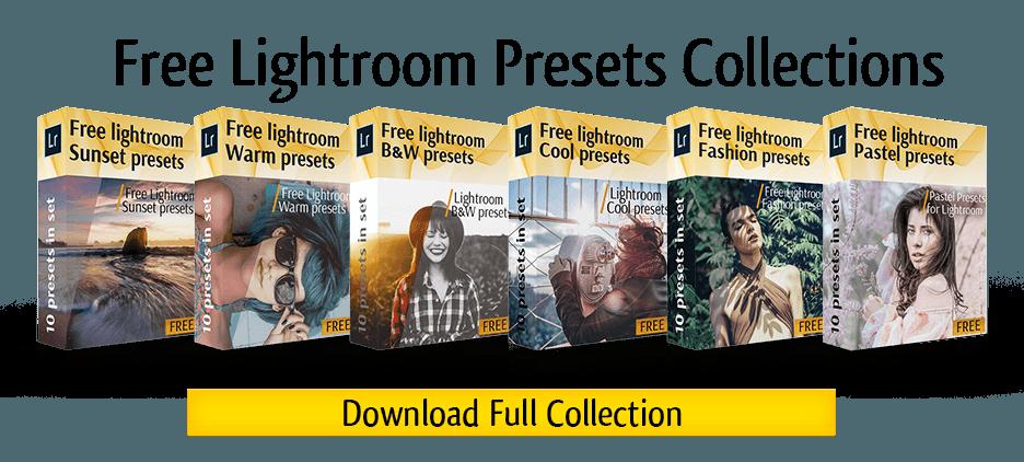 30 Free Lightroom Presets for Wedding & Portrait Photography