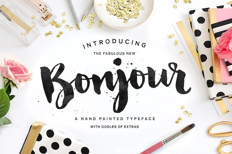 22 Beautiful Brush Fonts for Artistic Designs - Super Dev Resources