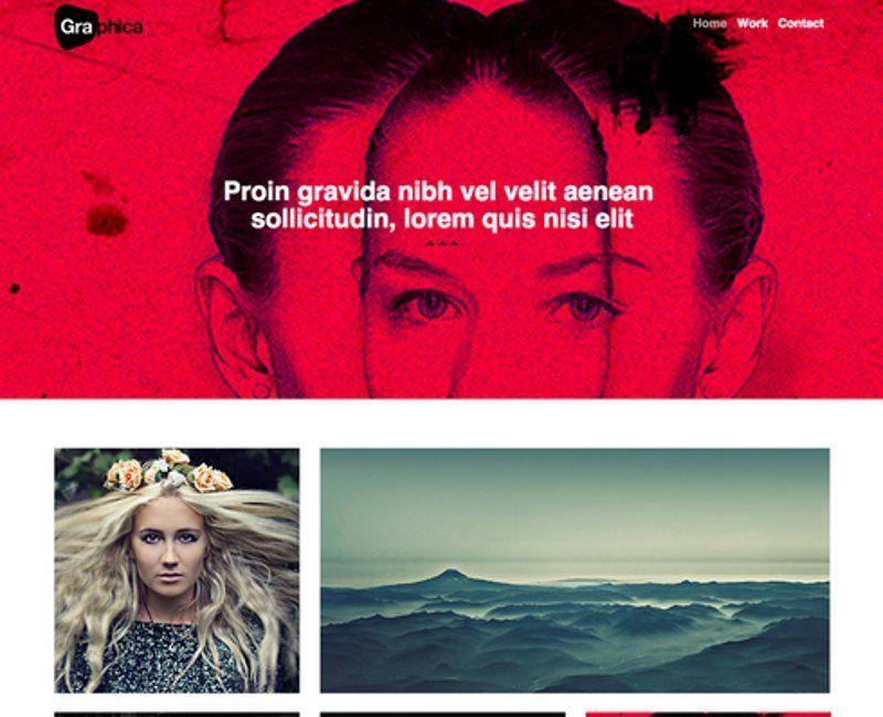 photographica portfolio bootstrap template