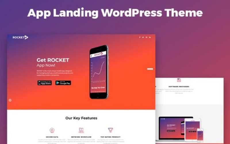 15 Best WordPress Themes to Create App Showcase and Landing Pages