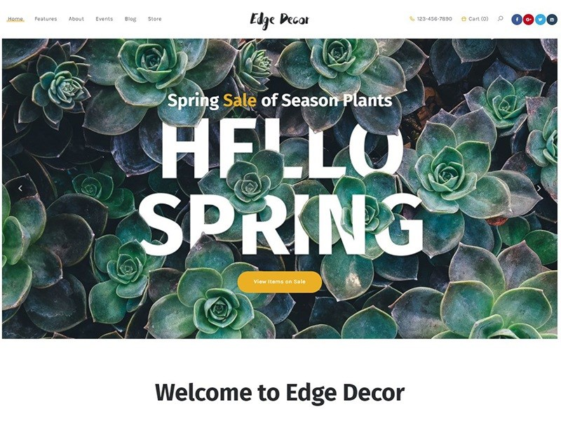 Edge Decor | Gardening & Landscaping Theme