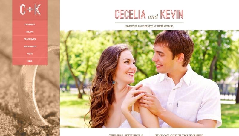 eternity wedding html