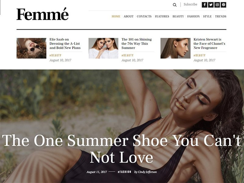 Femme | Online Magazine & Fashion Blog