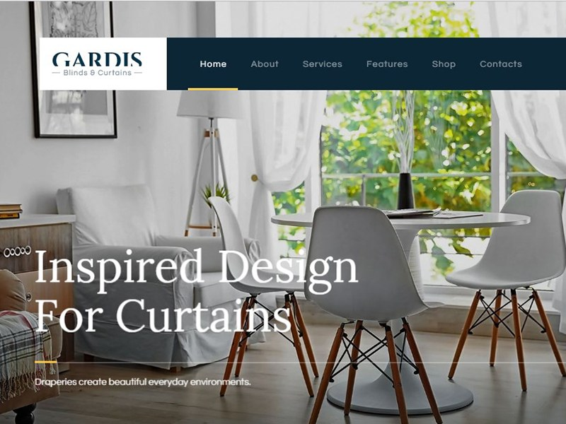 Gardis | Blinds and Curtains Studio & Shop