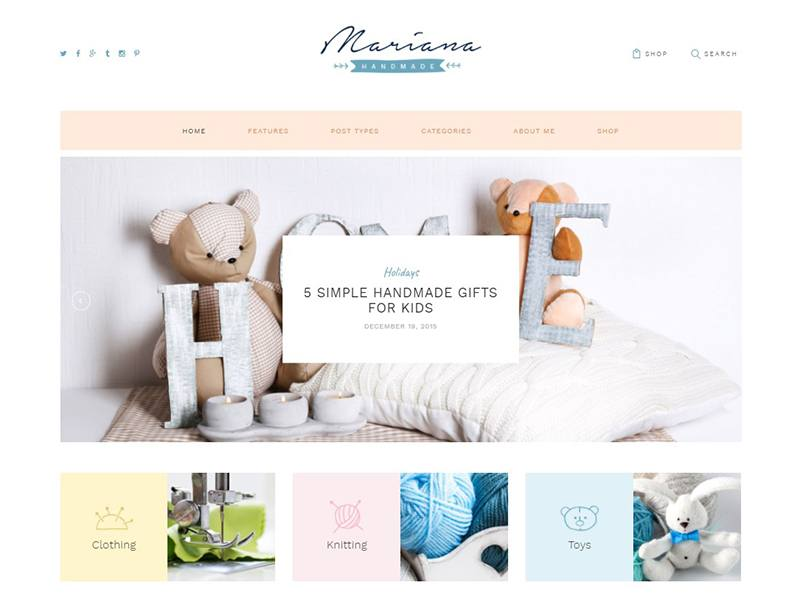 Mariana | Handmade Blog & Shop