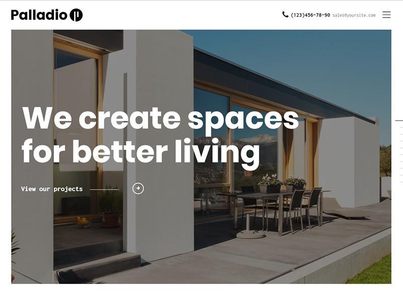 Palladio   Interior Design & Architecture Theme