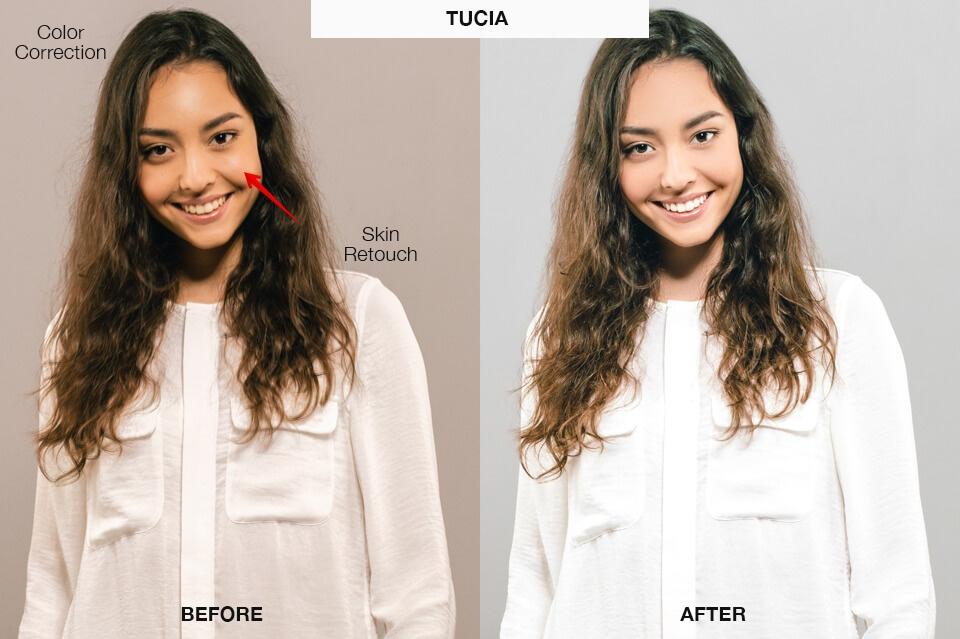 portrait retouching services tucia