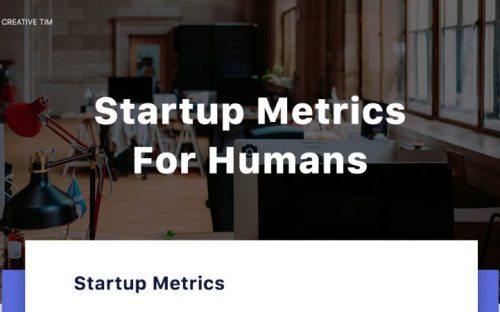 The Five Stages of Startups & Metrics to Measure [Infographic]
