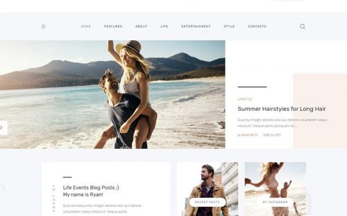 Top 15 Personal Blog WordPress Themes